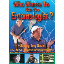 Who Wants To Be An Entomologist? Tony Gustin Study Insects Bugs Spiders DVD NEW