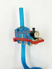 Thomas the Tank Engine 1 Sipper Straw Blue Applause Vintage NEW