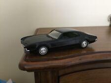 1966 OLDSMOBILE TORONADO JOHAN PLASTIC PROMO MODEL CAR FRICTION Black VG Cond.