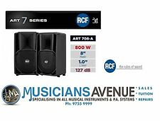 "RCF ART 708-A MK II 8"" 800w Powered/Active PA Speaker"