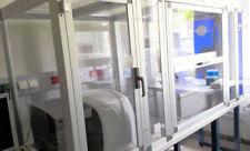 NimbleGen Microarray scanner Roche MS200 + Slide Washer , Ozone Free Box , 2012