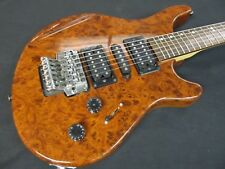 Washburn BT-6/GLB Maverick Electric Guitar Burled Walnut Finish