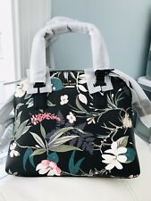 NWT Kate Spade Cameron Street Botanical Lottie Satchel $328 Black Multi