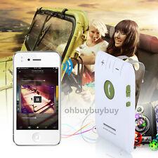 Bluetooth Wireless Hands-free Speaker Car Speaker Kit Visor Clip For Phone USA Y