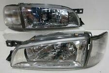 JDM Subaru Impreza GC8 STi GF8 WRX Front CRYSTAL Headlights Head Corner Lamp OEM