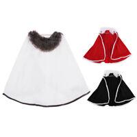 1/6 Male Body Long Gown Cape Cloak for 12'' Gragon DML BBI Action Figure Toy