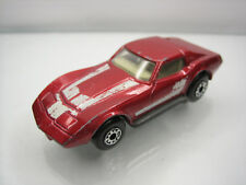 Diecast Matchbox Superfast Chevrolet Corvette No. 62 Red Good Condition