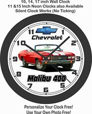 1970 Chevrolet Malibu 400 Convertible Wall Clock-Free USA Ship