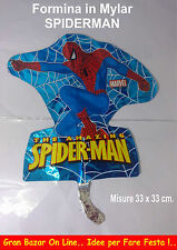SPIDERMAN Formina Mini Shape 33 x 33 cm. in Mylar FESTA COMPLEANNO PARTY