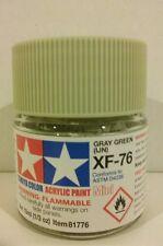 Tamiya acrylic paint XF-76 Grey green  (IJN) 10ml Mini