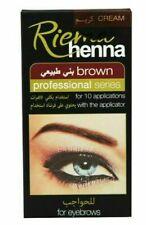 Riema Henna Brown Professional Series For Eye Brows 15ml+15ml FREE SHIPPING