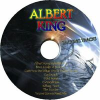 ALBERT KING BLUES GUITAR BACKING TRACKS CD BEST OF HITS MUSIC MP3 PLAY ALONG