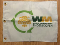 Waste Management Phoenix Open Screen Printed Pin Flag PGA Tour Souvenir Fowler
