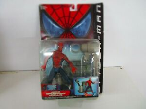 2002 TOYBIZ MARVEL SERIES 2 MOVIE LEAPING  SPIDERMAN  ACTION FIGURE NEW IN BOX