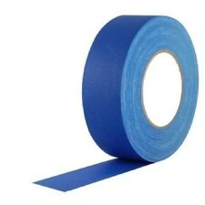 "Electric Blue Gaffers Tape 2"" Wide X 55 yrd Roll Gaff"