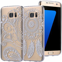 FUNDA DE GEL TPU PROTECTORA CASE TRANSPARENTE CLEAR MANDALA DREAMCATCHER