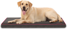 New listing Qiaoqi Dog Bed Crate Bed Washable Orthopedic Beds Dense Ideal for Crate or Foam