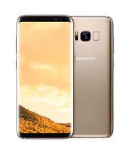 "Samsung Galaxy S8 G950FD 5.8"", 64GB, Dual-SIM, 4G Smartphone (Unlocked ) - Mapple Gold"
