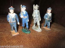 Vente-Lot figurines de la marine-Quiralu-Plomb creux&plomb-(1940-1950)