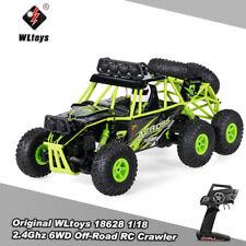 WLtoys 18628 1/18 2 4g 6wd Elektro Rock Crawler RC Buggy Auto De X9f6