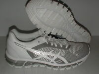 Asics women's running shoes gel quantum 360 knit white snow silver size 9.5 us