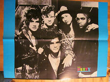 The Party, Damon Pampolina, Guys Next Door Double Sided Four Page Foldout Poster