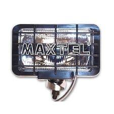 Faro supplementare aggiuntivo Maxtel cromato rettangolare con griglia removibile