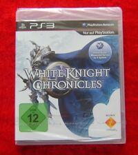 White Knight Chronicles, PS3, PlayStation 3 Spiel, Neu, deutsche Version