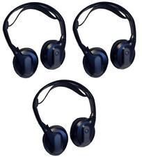 3 PAIRS ROSEN AC3614 INFRARED REPLACEMENT HEADPHONES