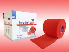 Peha-haft color rot 8cm x 20 m latexfrei kohäsive, elastische Fixierbinde