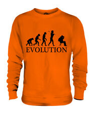 BIRD WATCHER EVOLUTION OF MAN UNISEX SWEATER MENS WOMENS LADIES GIFT WATCHING