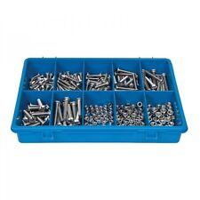 Jamec Pem 102667 - 304 Stainless Steel Machine Screws Assortment Grab Kit -248pc