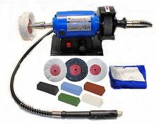 Mini máquina de pulido de metal/pulidor Kit (velocidad Variable) C/W Eje Flexible