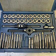 Sears/Craftsman 952381 50-Piece SAE/Metric Tap & Die Set Made in USA
