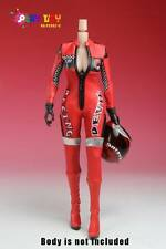 Play Toy Racing Girl Uniform Set (Red) for 1:6 scale Female Figures PL-PC002C