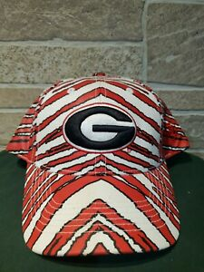 NEW Top Of The World Georgia UGA Bulldogs Hat Snapback Stripes All Over NWT