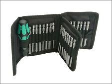 Wera - Kompakt 62 Screwdriver Bit Holding  Kit of 33 Pouch - 5059297001