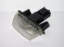 Peugeot number plate light bulb holder 206 207 306 307 308 406 407. Genuine.