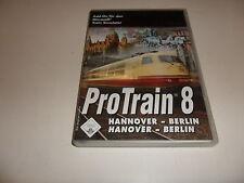 PC  Train Simulator - Pro Train 8 Hannover-Berlin