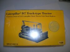 "NORSCOT #386 1:25 "" D7 CATERPILLAR TRACTOR  "" NEW SEALED BOXED LOT #16047"