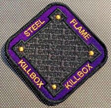 Steel Flame Purple Cancer KillboX Morale Patch