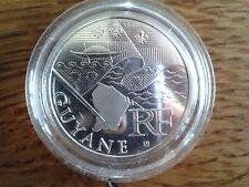 france 10 euros argent 2010 guyane