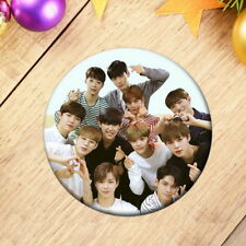 Kpop WANNA ONE Badge Brooch Chest Pin For Clothes Hat Backpack Decor