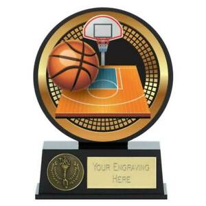 Vibe Basketball Trophy 12 cm with Free Engraving up to 30 Letters