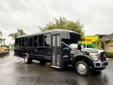 2015 Ford F-550 30 Passenger Limo Shuttle Bus