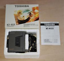 Toshiba KT-4121 - Stereo Cassette Player Walkman - Dyna Bass Headphones - VGC