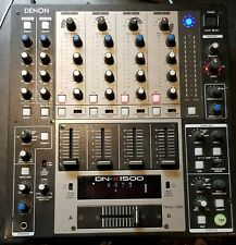 Denon DN-X1500 4 Channel DJ Mixer - *Please read