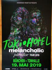 TOKIO HOTEL  2019 MÜNCHEN - orig.Concert Poster - Plakat  A1