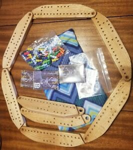 Pegs and Jokers full set 8 board game.