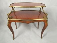 Antique French Louis XV style bronze mounted buffet table # SK03